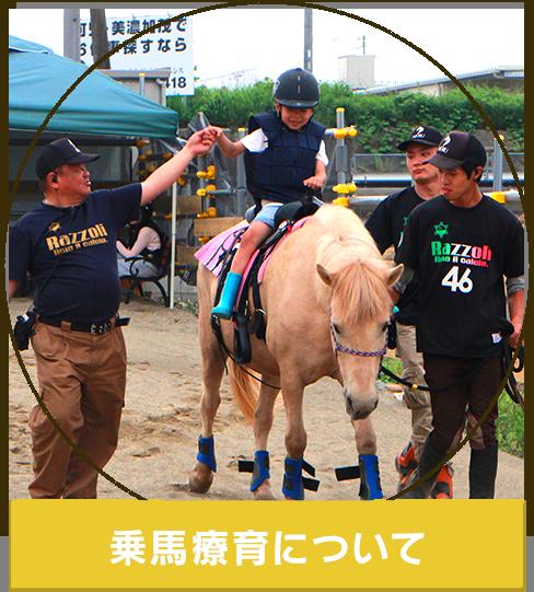 乗馬療育について